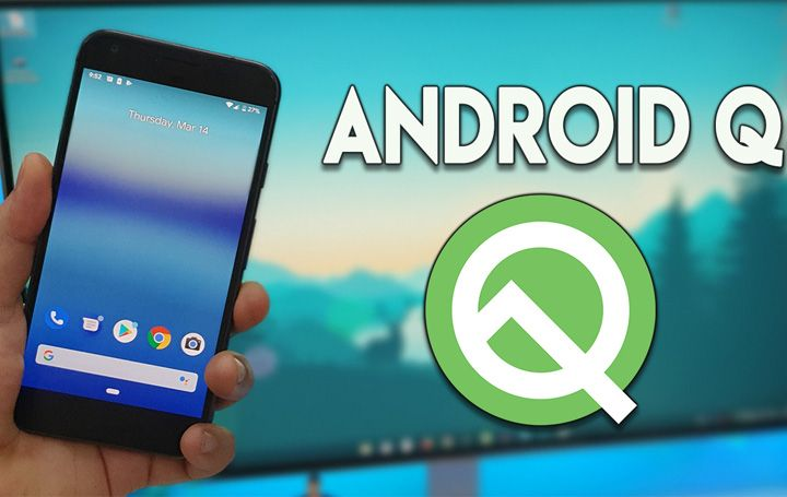 Android Q به طور خودکار بین حالت تاریک و روشن تغییر می کند .