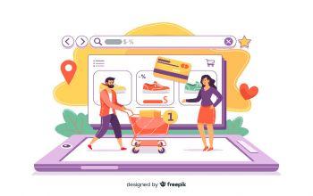 تاثیر فروشگاه های اینترنتی بر کسب و کارها